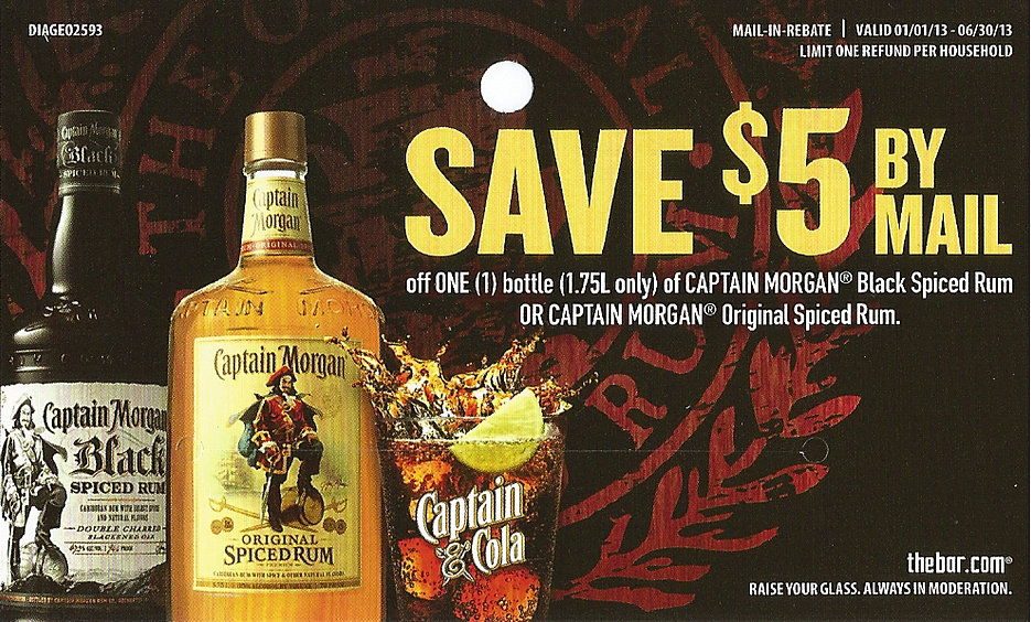 Captain Morgan Rebate