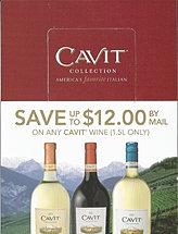 Cavit Wine Rebate