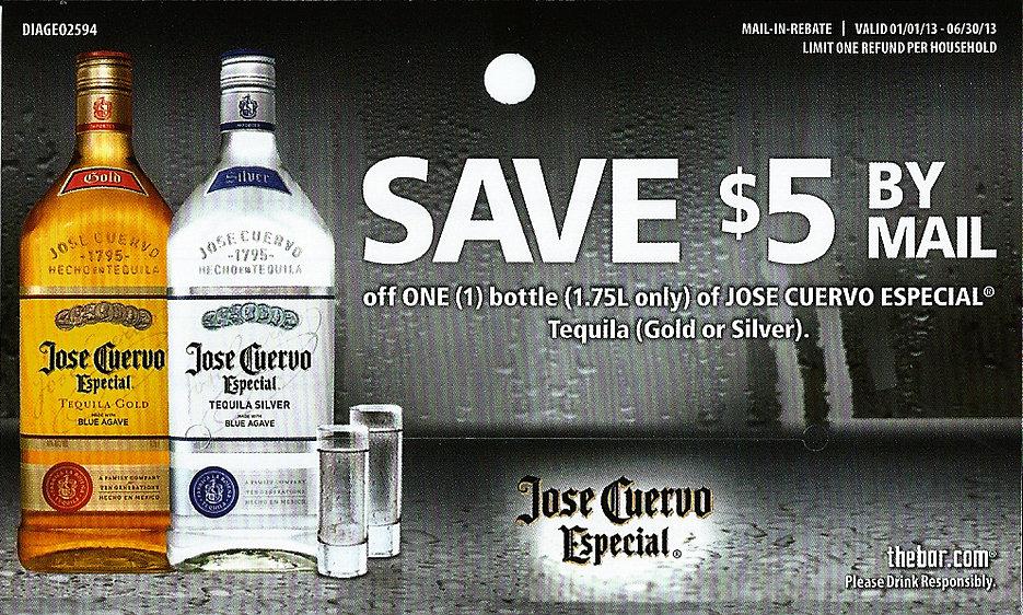 Jose Quervo Especial Rebate