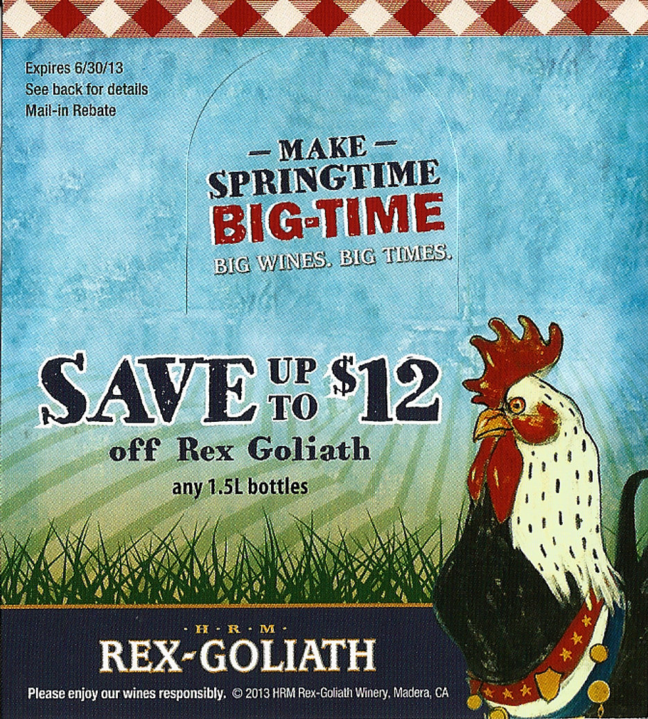 Rex Goliath Rebate