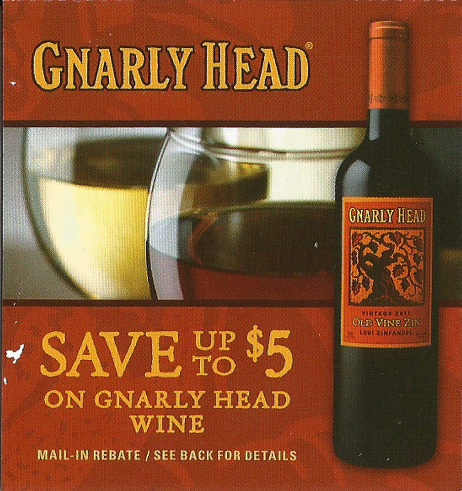 Gnarly Head Rebate