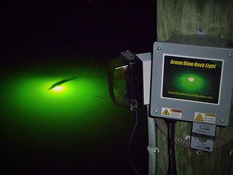 faq - green glow dock light, Reel Combo