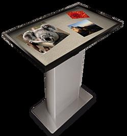 Totem multimediali totem touch screen gruppo i tec - Tavolo multimediale ...