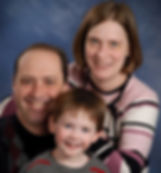 Family photo of Jim Workman, therapist at Olive Branch Family Therapy NC