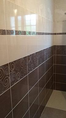 carrelage salle de bain vannes