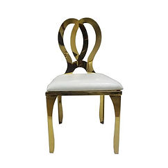Luxe Living - Chair, Arcera Gold