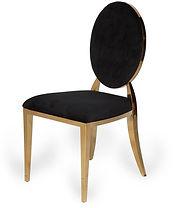 Luxe Living - Chair, Azura Black