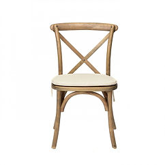 Luxe Living - Chair, Crossback