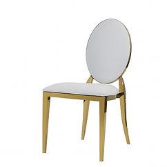 Luxe Living - Chairs, Azura White