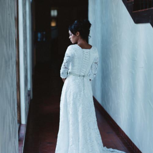 My Modest Gown | Size 8-10 Modest Wedding Dress