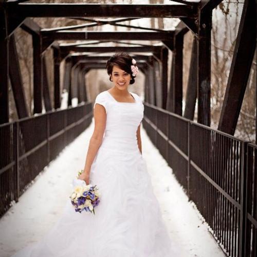 My Modest Gown: Budget Modest Wedding Dresses