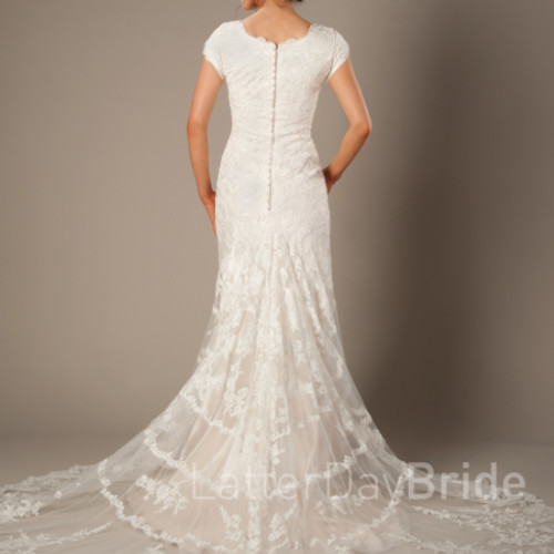 My Modest Gown: Modest Wedding Dresses Size 0-2