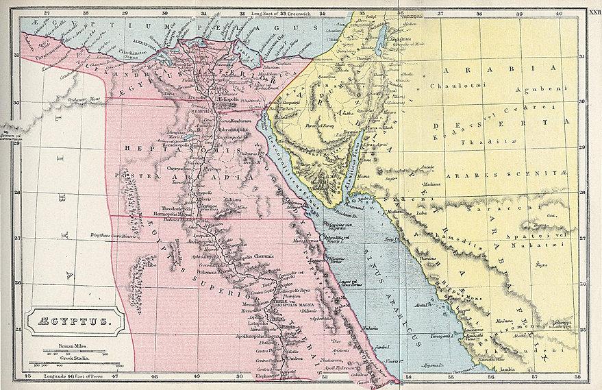 Common Core Social Studies Companion Ancient Egypt - Map of egypt 3000 bc
