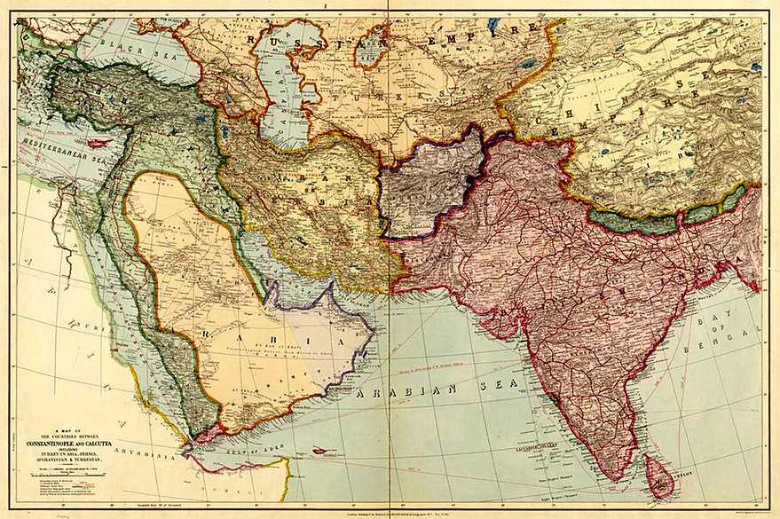 Common Core Social Studies Companion – Ancient India Map Worksheet