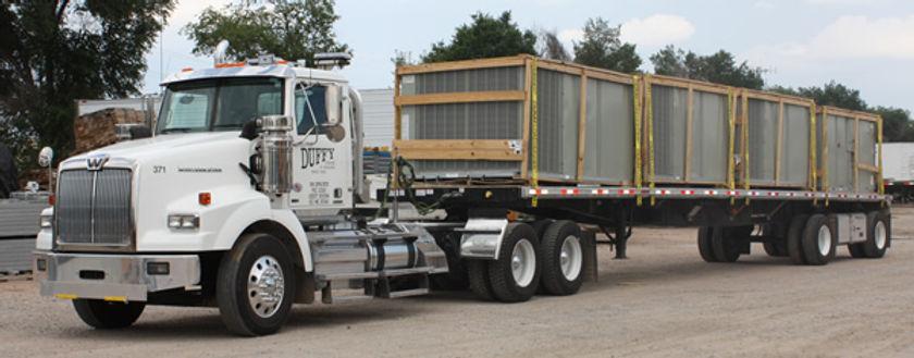 heavy hauling truck service