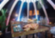 Dining Domes Igloo Create Structures