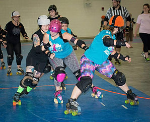 Sugar Slap holds back the Jammer