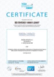 CERTIFICATE BS OHSAS 18001:2007