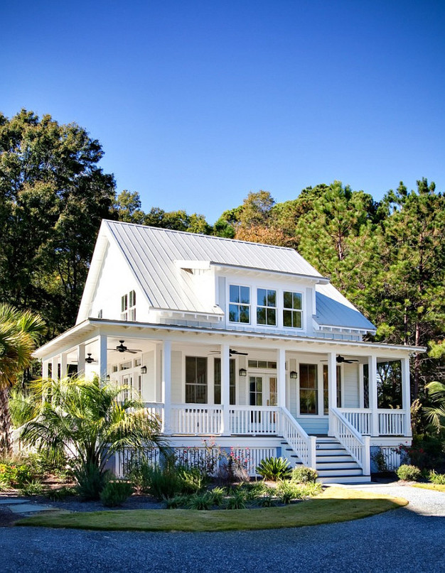 Traditional Key West Style Home Features and House Plans Custom