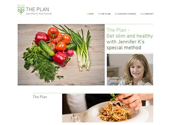The Plan Template - Cleanse yourself with a fresh and inspiring template, perfect for nutritionists and dietitians. Demonstrate your nutritional knowledge by creating your own sample meal plan to inspire and motivate your follows! Start editing now to create your online presence and watch your clientele grow!