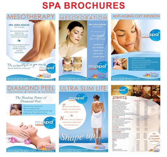 MY SPA BROCHURES