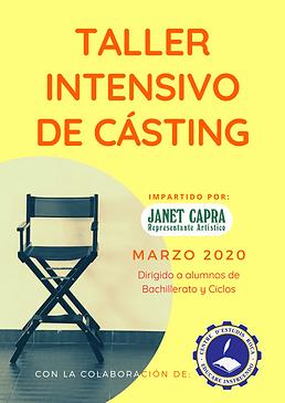 Taller Casting por Janet Capra Actors