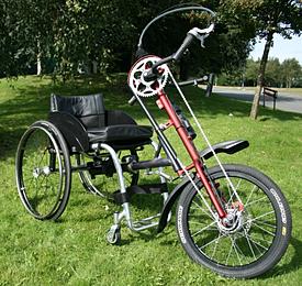 Handcycle Veloce 7 Speed