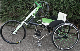 UK Lightweight Wheelchairs, Hand cycles