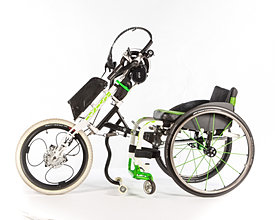 Hand-cycle with Electric Motor