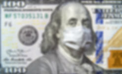 COVID-19 coronavirus in USA, 100 dollar