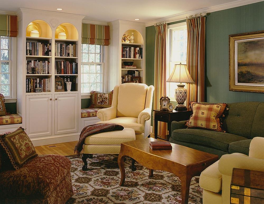 Bonneville Design New England Interior Designer Living Room
