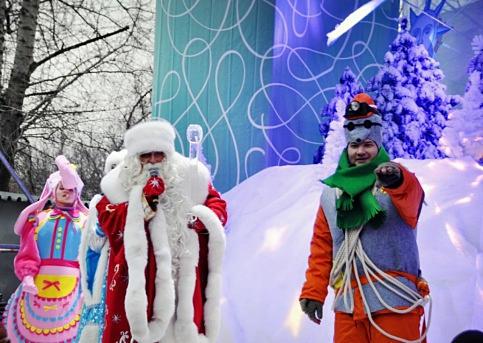 В столице отметят день рождения Деда Мороза