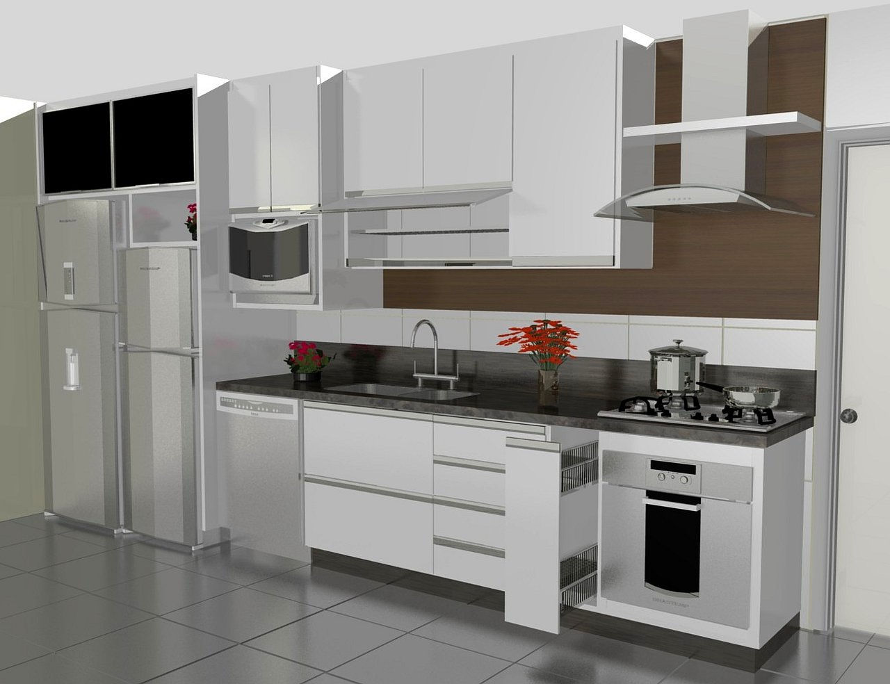 kitchen design ideas for small kitchens.jpg #5D4839 1280 984