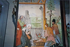Altar Painting, St. Anna Chapel