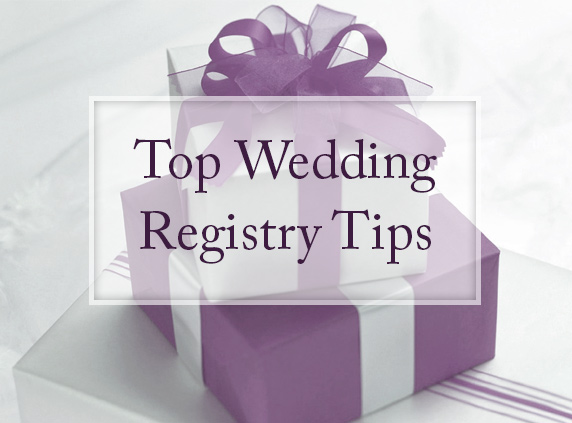 top wedding registry tips allseated your event
