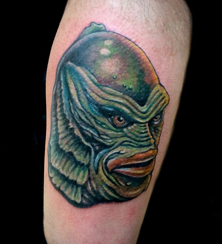 Creature Black Lagoon Tattoo Creature of The Black Lagoon