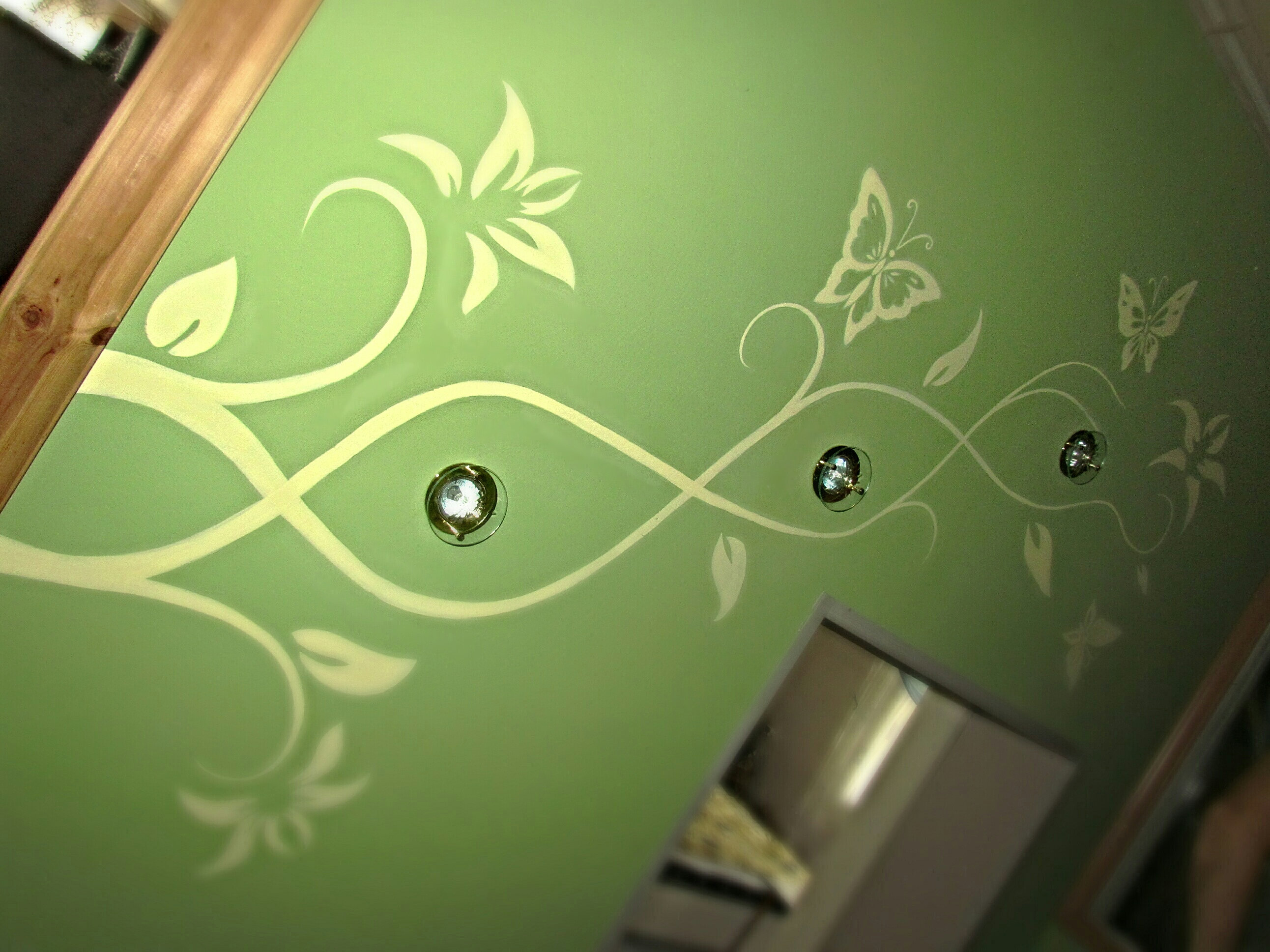 Орнамент на стенах своими руками фото