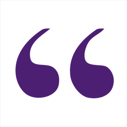 Image result for purple quotation marks