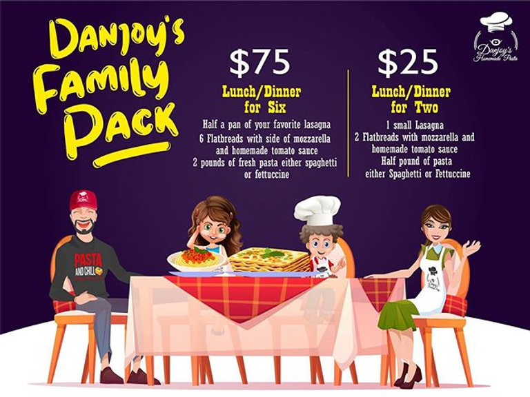 Now introducing Danjoy's Family Pack (Pr