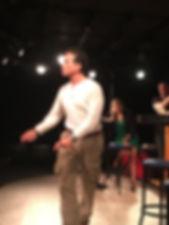 Gregor Cole in his off-Broadway debut