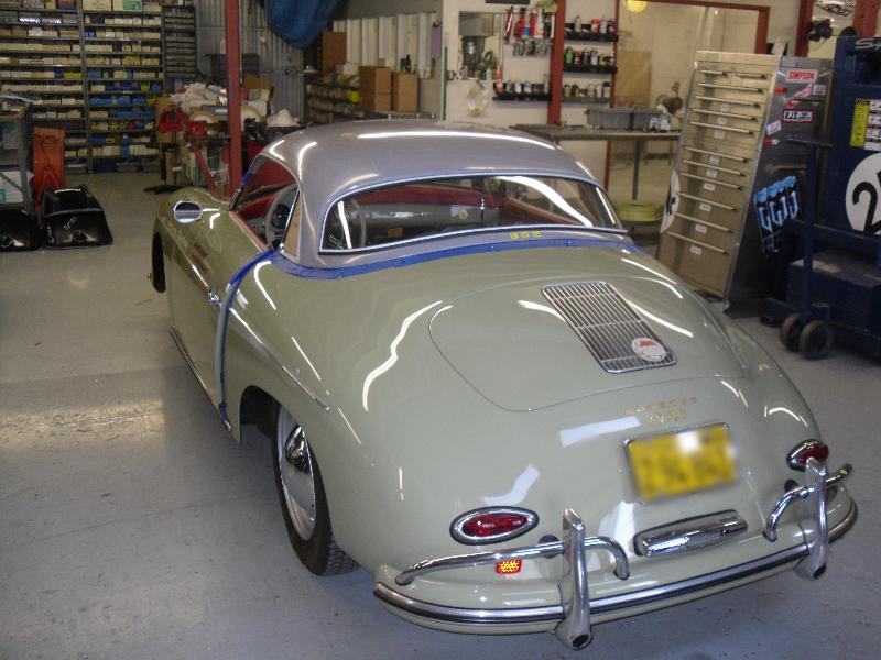 Porsche 356 550 Spyder Speedster Parts Stone Gray 356