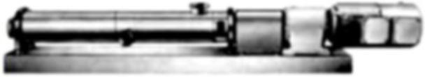 Block Design Sanitary Single Screw Pump