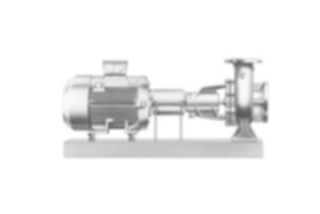 Base Plate Volute Casing Centrifugal Pump