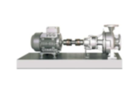 High Temperature Base Plate Volute Casing Pump