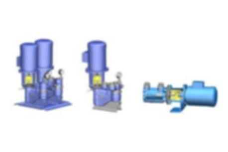 Magnetic Coupling Medium Pressure Triple Screw Pump