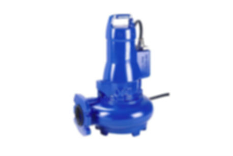Volute Casing Open Impeller Compact Waste Water Pump