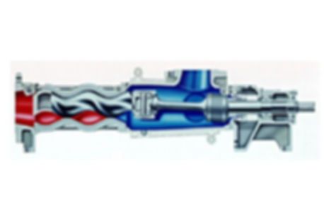 Equal Walled Stator Single Screw Pump