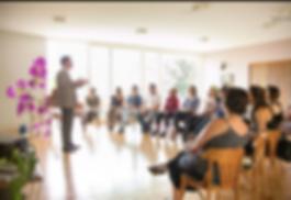 Francisco Nogueira o psicanalista do Relações Simplificadas em worskop com líderes de empresa