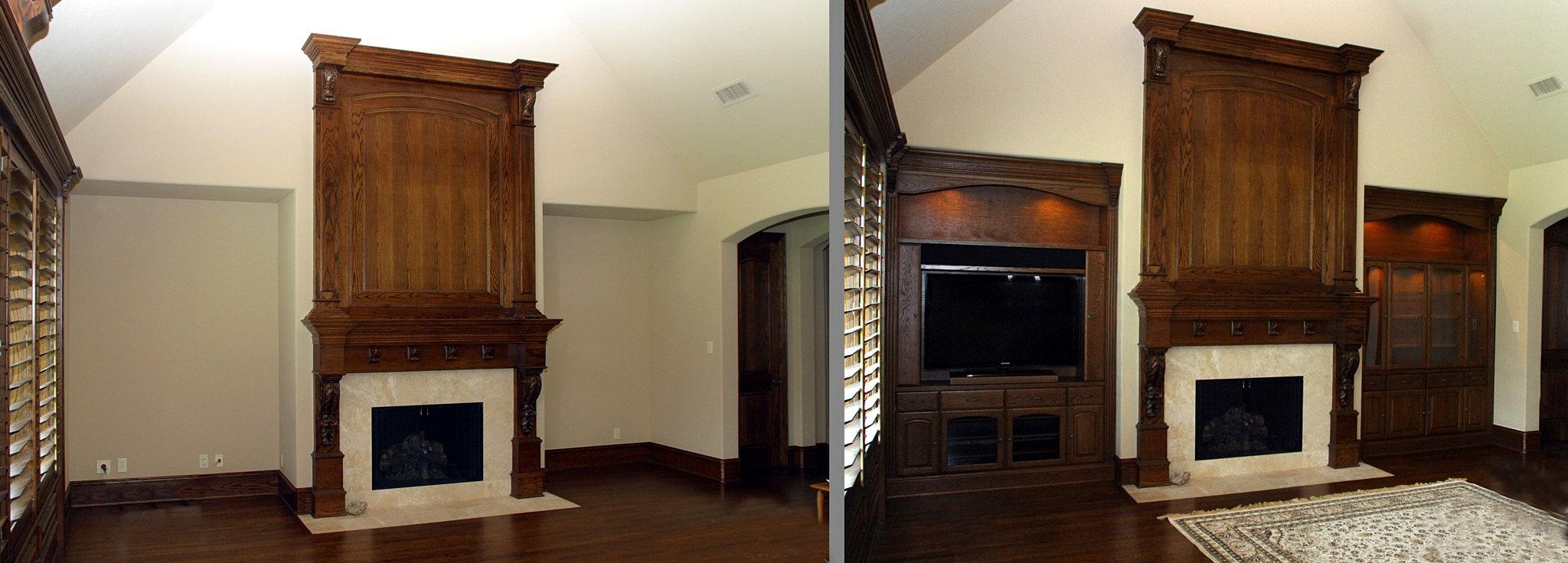 Custom furniture dallas home office furniture cabinets for Unique home furniture 77020