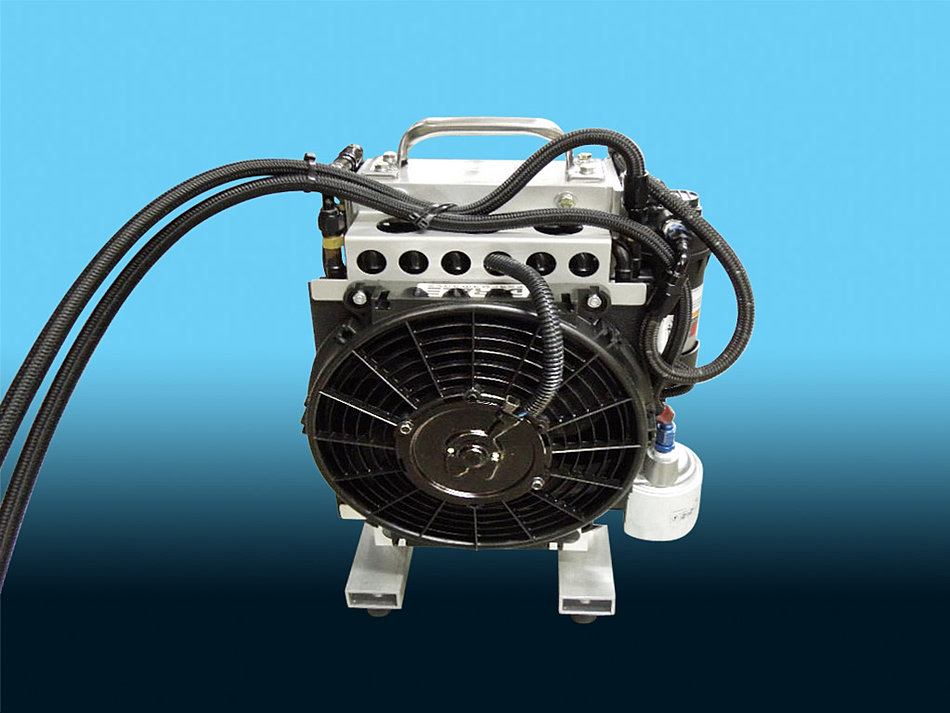 Racing Transmission Fluid Cooler : Drag racing products transmission cooler crimped an